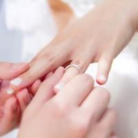 結婚式・指輪交換